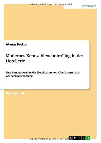 Download Modernes Kennzahlencontrolling in der Hotellerie (German Edition) pdf