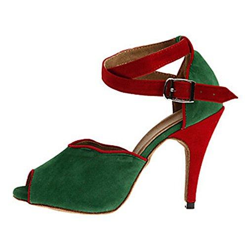 Salle de Miyoopark femme heel bal Green 10cm dFqqZ5