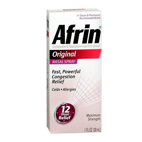 Afrin 12 Hour Nasal Spray, Original 1 fl oz