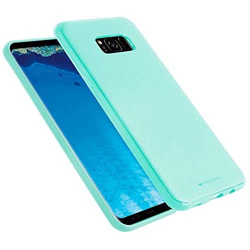 Goospery Style Lux Jelly for Samsung Galaxy S8 Plus Case (2017) Thin Slim Bumper Cover (Sky Blue) S8P-STYL-SBLU