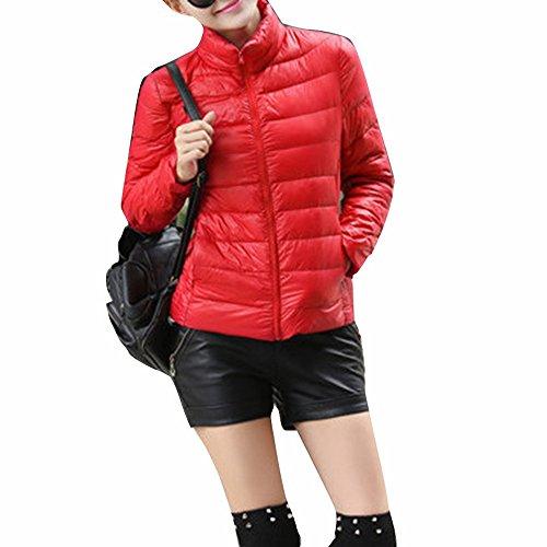 Court L Femme Manteau Chaud Veste Ultra Jacket Wenyujh Hiver wIvdx866