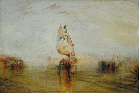 Keyboard Sun 6' (Oil Painting 'Joseph Mallord William Turner - The Sun Of Venice Going To Sea,1843' Printing On High Quality Polyster Canvas , 10x15 Inch / 25x38 Cm ,the Best Home Theater Gallery Art And Home Artwork And Gifts Is This High Definition Art Decorative Canvas Prints)