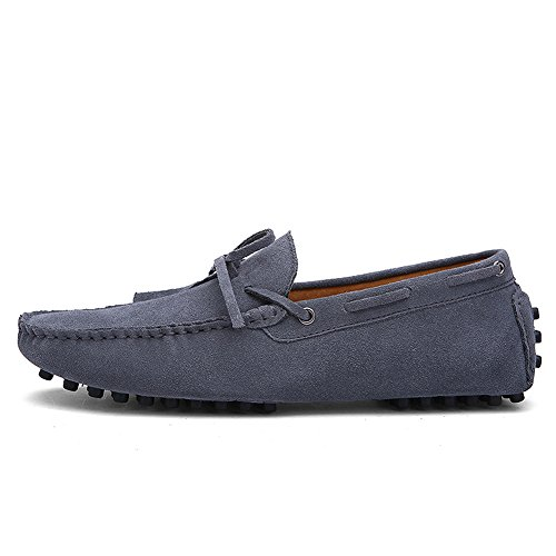 iLory Men's Comfort Suede Leather Loafers Casual Driving Shoes Flat Boat  Shoes Mocassins: Amazon.co.uk: Shoes & Bags