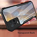 Ronnx® Back Case Cover Realme 8 5G / Narzo 30 5G [Polycarbonate TPU Clear Transparent Military Grade Protection] Shock…