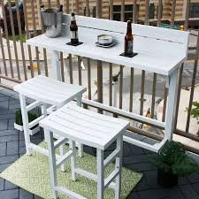 MiYu Furniture 3-piece Balcony Bar – Lily