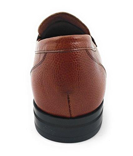 ... Zerimar Herren Lederschuh Schuh mit Flexibler Gummisohle Leder Casual  Schuh Täglicher Gebrauch Schöne Leder Sportlich Schuh ... d368864ca5