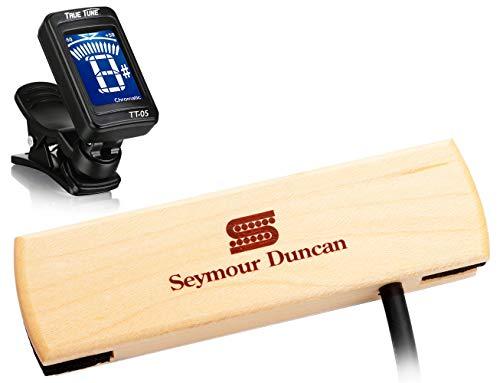 Seymour Duncan Woody Series SC SA-3SC - Single Coil Acoustic Guitar Pickup Tuner Bundle 11500-30 ()