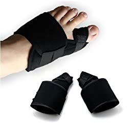 Big Toe Bunion Splint Hallux Valgus Foot Pain Relief Corrector 2pcs for Left and Right foot,Size M