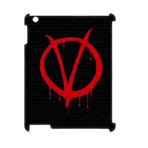 C-EUR V for Vendetta Pattern 3D Case for iPad 2,3,4