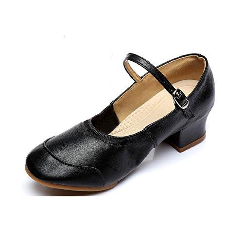 5d2b1387 50% de descuento WYMNAME Mujeres Zapatos De Baile Latino,Fondo Blando  Tacones Mediados Zapatos