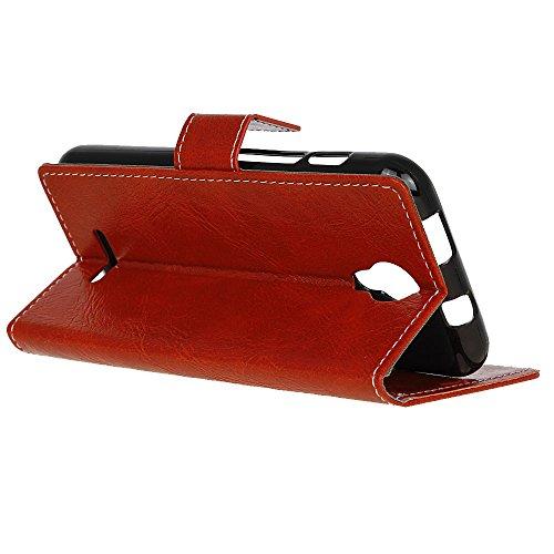 Supporto Wiko Slot Pelle Case Custodia Wallet Portafoglio A Texture Di Adorehouse Scheda Harry Cover Rosso nero E Retro In Pu Flip Custodia Per ppT6qrx