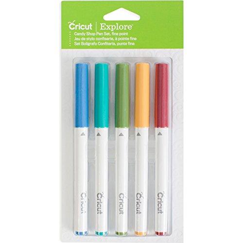 Cricut Pen Set, 5 Pack, Candy Shop ()