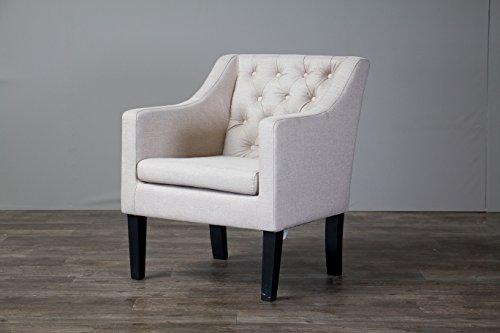 Baxton Studio Brittany Chair Beige