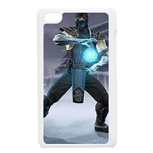 iPod 4 Case White sub zero mortal kombat Popular games image WOK7568935