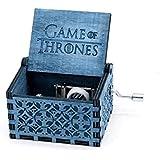 Game Of Thrones Classic Mini Blue Wooden Music Box