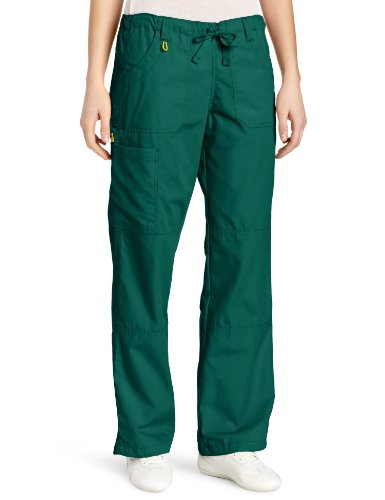 Wonderwink Women's Scrubs  Cargo Pant, Hunter Green, Larg...