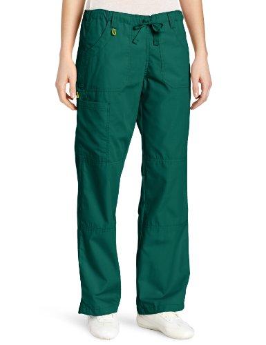 WonderWink Women's Scrubs  Cargo Pant, Hunter Green, Medium/Petite by WonderWink