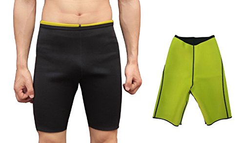 ValentinA Mens Sweat Shapers Pants Hot Slimming Sauna Shorts - Pants Neoprene Mens
