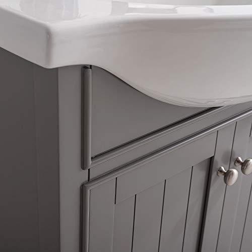Single Sink Bathroom Vanity LC30HGP Review