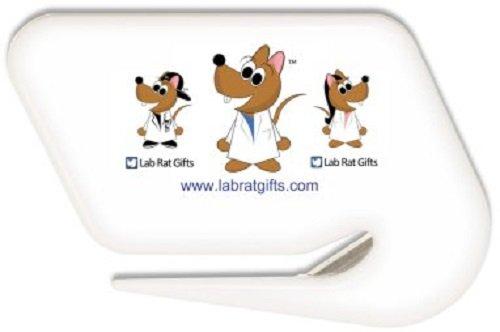 Lab Rat Gifts LO002 Plastic Lab Rat Letter Opener, Letter Opener LO001