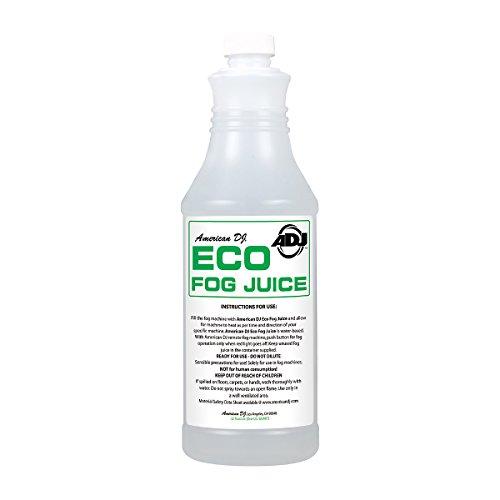 (American Dj Eco Fog Q Quart Sized Water Based Fog)