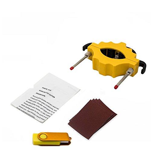 Bouteille De Vin Cutter Outil Kit U2013 Jaybva Outils à Découper En Verre  Bouteille Cutter Machine