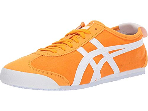 Leather Tigers (Onitsuka Tiger by Asics Unisex Mexico 66 Citrus/White 10 Women /+D409:D437 8.5 Men M US)