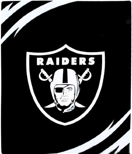 Oakland Raiders Queen Throw Blanket product image