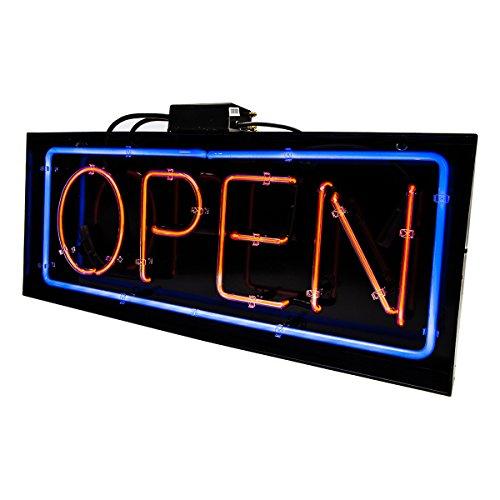 Horizontal Neon Open Sign (Arter Neon Signs)