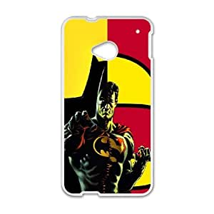 Batman And Robin Mashup HTC One M7 Cell Phone Case White Delicate gift JIS_332019