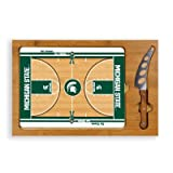 PICNIC TIME NCAA Michigan State Spartans Digital Print Basketball Icon, Natural, One Size