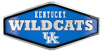 University Of Kentucky Embossed Metal Sign