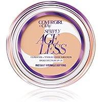 Covergirl & Olay 0.4 oz Simply Ageless Instant Wrinkle Defying Foundation (Soft Honey)