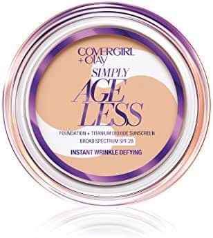 Covergirl & Olay Simply Ageless Instant Wrinkle-Defying Foundation, Creamy Beige