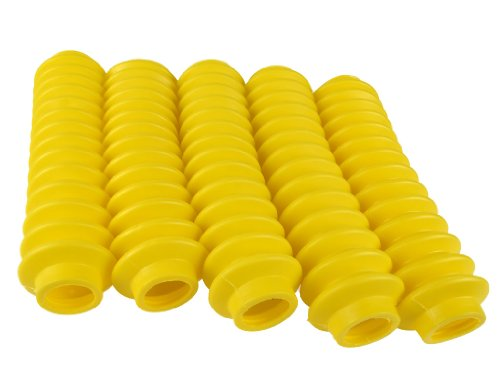 5 Shock Boots YELLOW Fits Most Shocks for Jeep Universal Off Road Vehicles
