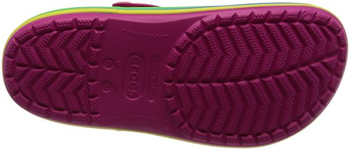 Pink Crocband Crocs Rainbow Band Confetto Rosa Clogs Candy zgnpSFwX