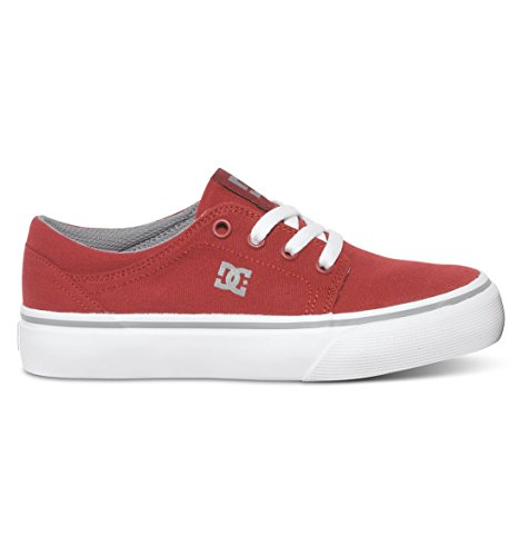 para Trase Hombre TX Shoes Grey Red DC Zapatillas x5XIaOnq