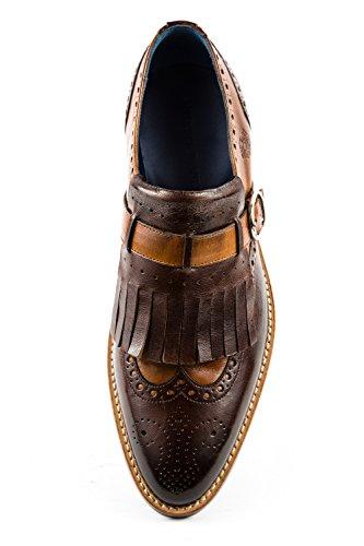 Ville Melvin Lacets Chaussures amp; de MH15 41 Homme Marron à Hamilton pour Marron EU 300 qBaTq