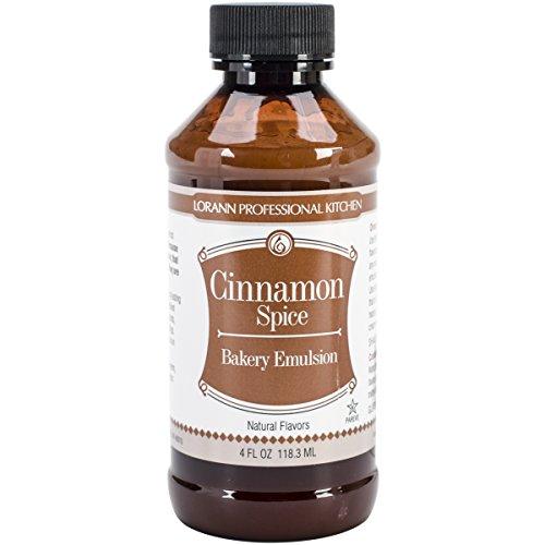 Lorann Oils Bakery Emulsions Natural and Artificial Flavor, Cinnamon Spice, 4 Fluid - Extract Cinnamon