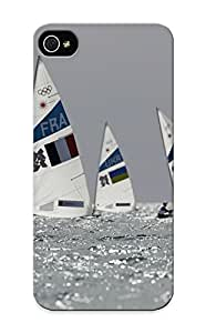 Eatcooment Hot Tpye Sailing At The Summer Olympics Case Cover For Iphone 5/5s For Christmas Day's Gifts