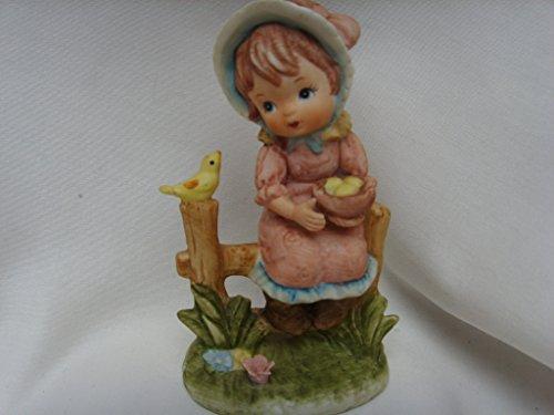 Lefton China Porcelain Figurine 4.5