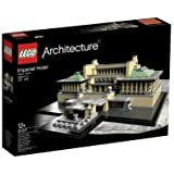 LEGO Architecture - 21017 - Jeu de Construction - Hôtel Imperial