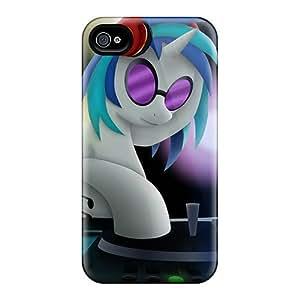 KKi7367oSWV Davilacase Dj Pon 3 Durable Iphone 4/4s Tpu Flexible Soft Case