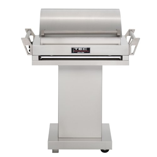 TEC G-Sport FR Natural Gas Grill On Stainless Steel Pedestal