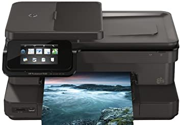 how to turn hp photosmart 7520 printer online