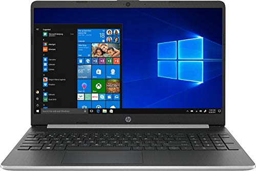 HP 15.6 Inch Touch Screen Laptop 256GB SSD ( 8th Gen i5-8265U, 12GB RAM, UHD 620 Graphics) Natural Silver