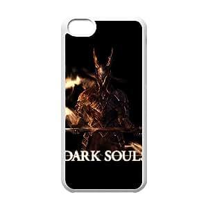 iPhone 5c Cell Phone Case White Dark Souls ZWU Phone Case 3D Customized