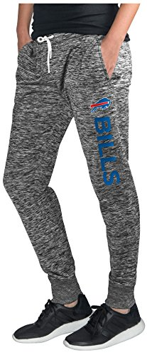 Sidelines Buffalo - GIII For Her NFL Buffalo Bills Women's Sideline Skinny Pants, X-Large, Heather Grey