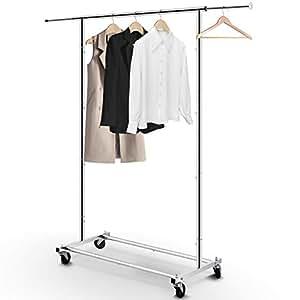 Amazon.com: Simple Trending Standard Rod Clothing Garment ...