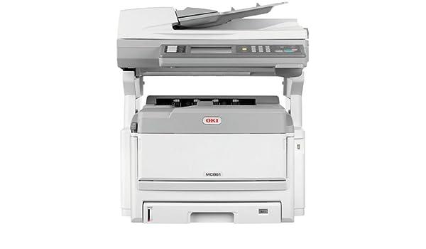 OKI MC851DN - Impresora multifunción (Laser, Color, Color ...